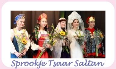 Theater op 13 oktober: Sprookje Tsaar Saltan