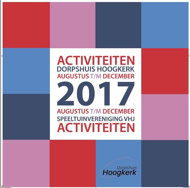 Het nieuwe activiteitenboekje is uit!